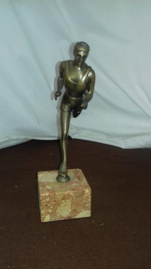 Atleta in bronzo