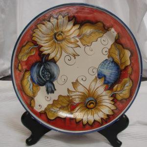 Piatto Ceramica Giacomini