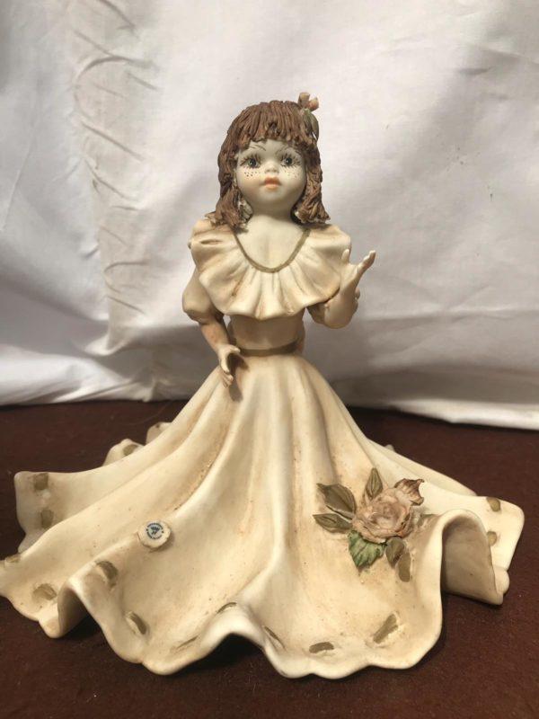 Bambola in porcellana di Capodimonte