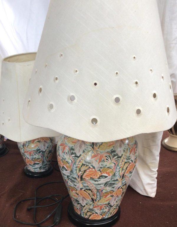 Tris di lampade siciliane