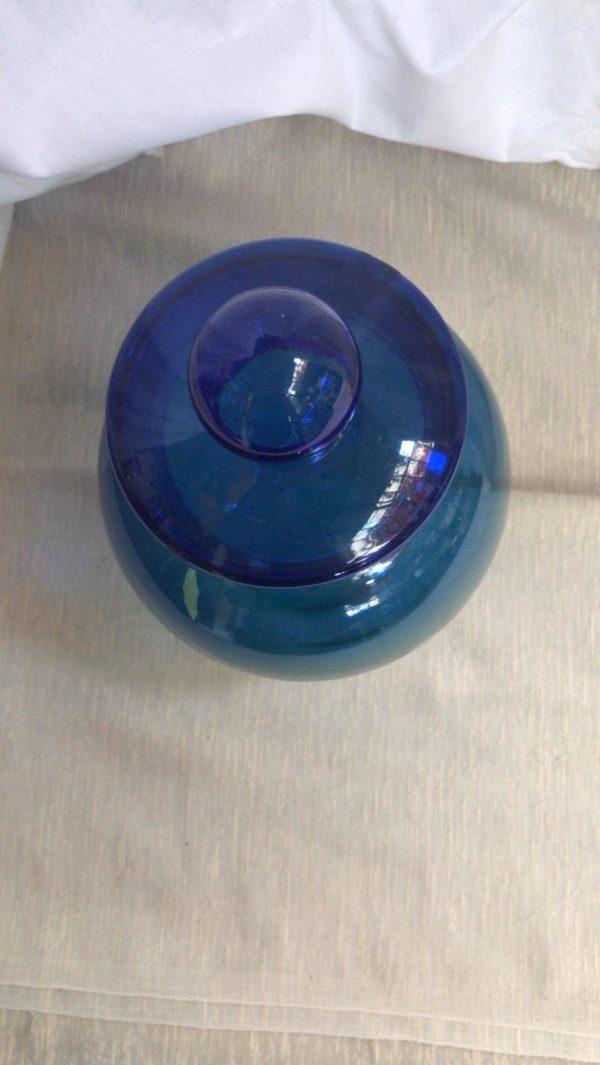 Vaso in vetro soffiato