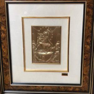 Quadro della Madonna di Pompei Vergine del Rosario