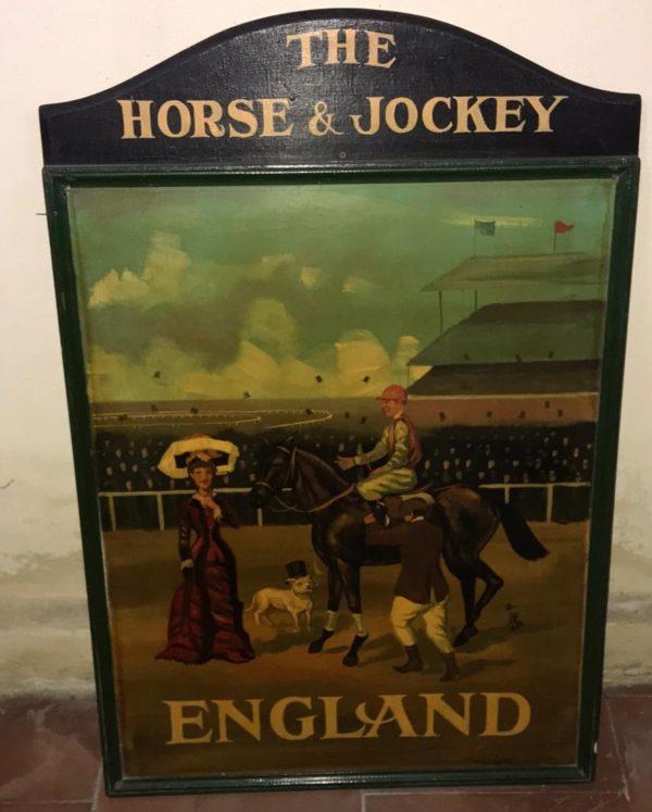 Quadro The horse & jochey  England