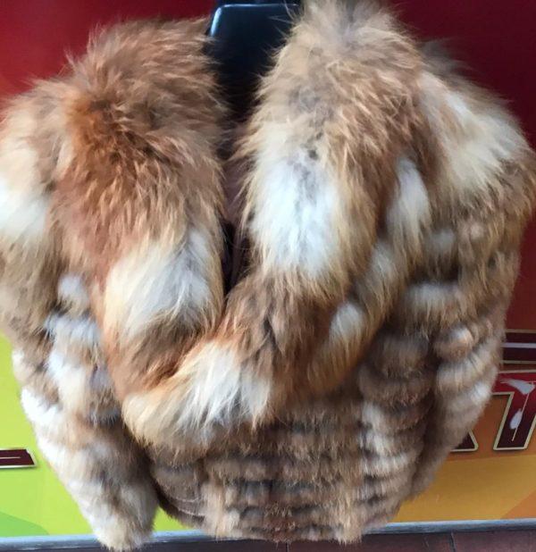 Pelliccia di volpe rossa