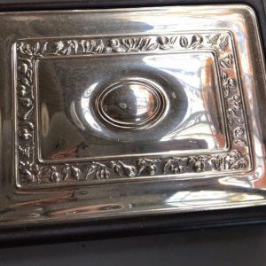 Rubrica con copertina in argento