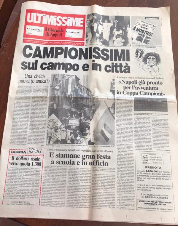 """GIORNALE """"CAMPIONISSIMI SUL CAMPO E IN CITTÀ'"""""""