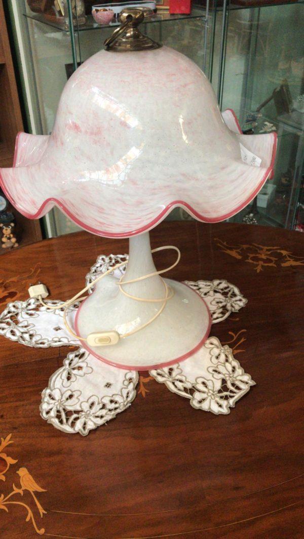 Lampada in vetro murano
